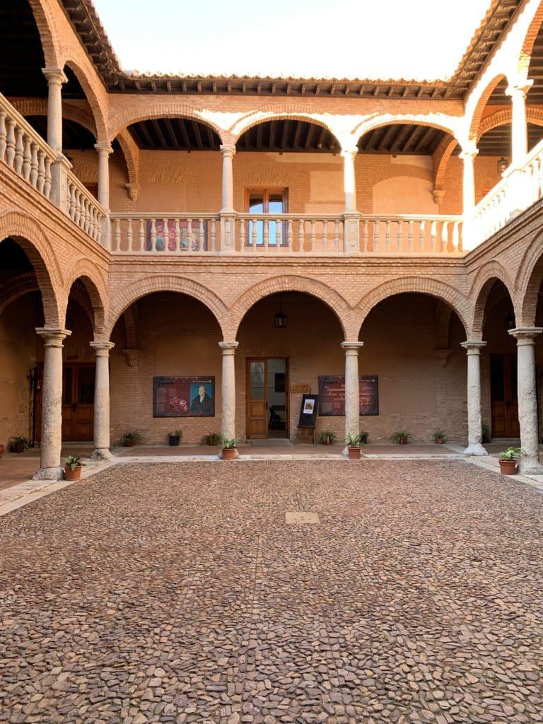 Fuggersin palatsin kaunis sisäpiha